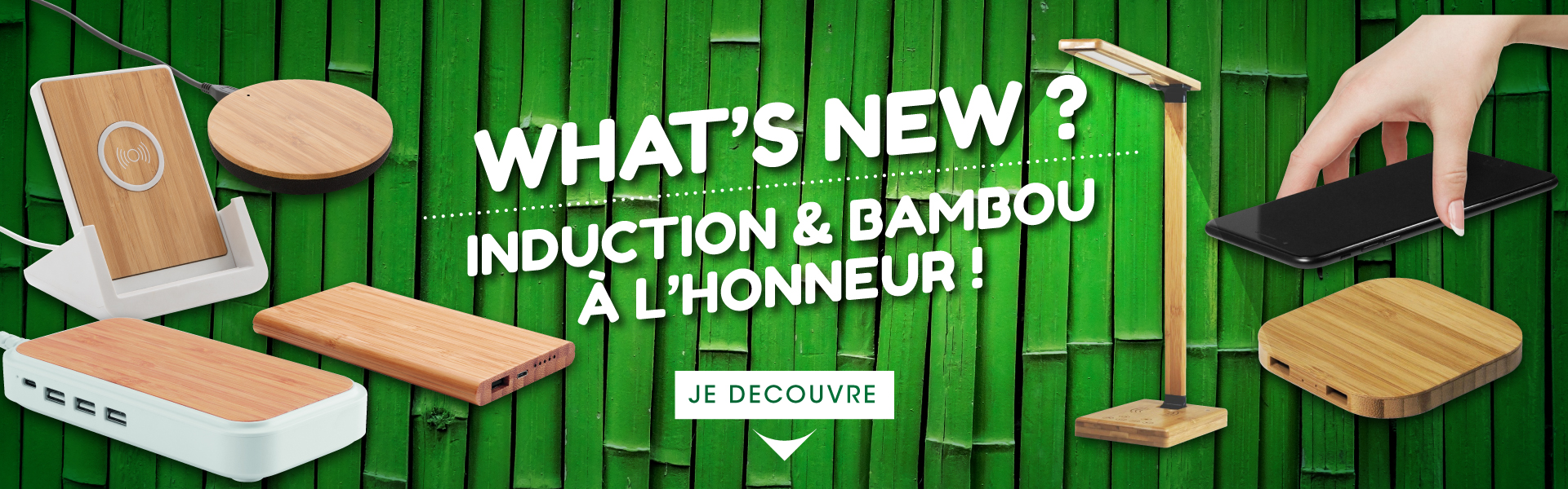 Induction & bambou à l'honneur !